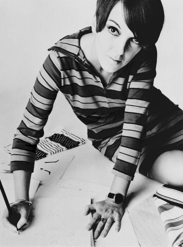 Mary Quant vuonna 1967.