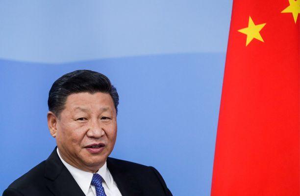 Xi Jinping on toiminut Kiinan kommunistisen puolueen pääsihteerinä vuodesta 2012 lähtien.