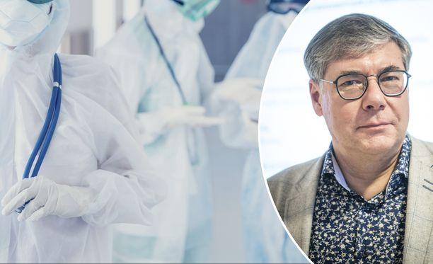 Asko Järvinen kertoo, millaisia koronapotilaita Husin sairaaloissa on ollut lähiaikoina.