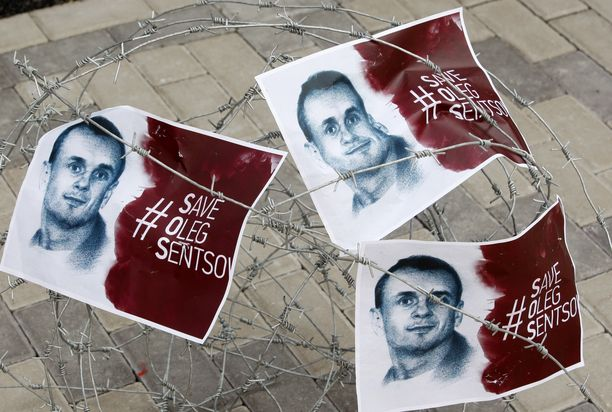 Ukraina ja länsimaat vaativat Sentsovin vapauttamista.