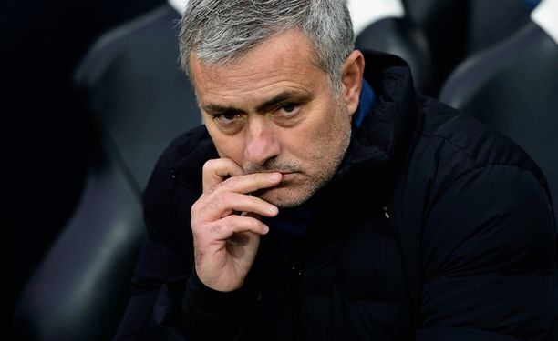 José Mourinho turhautui koillis-Englannissa.