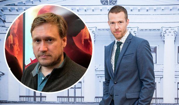 Edelmann ja Uusivirta näyttelevät Viulisti-elokuvassa pääosaa.