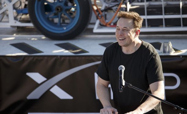 Elon Musk tähtää Marsiin.