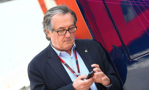 Gian Carlo Minardi esitti omat arvionsa F1-sarjan sopimuspelistä.