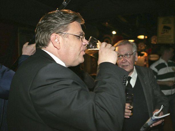 Soinille maistui vaaliolut myös vuonna 2007.