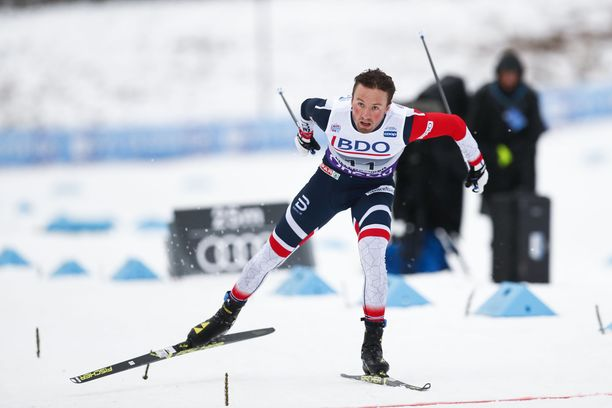 Emil Iversenillä oli värikäs viikonloppu Norjassa.