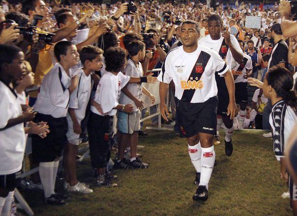 Romario lopetteli uraansa Vascossa 2007–08.