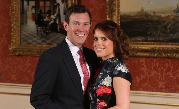 Prinsessa Eugenie ja Jack Brooksbank kuvailivat maanantaina kosintahetkeä BBC 1:n ohjelmassa.