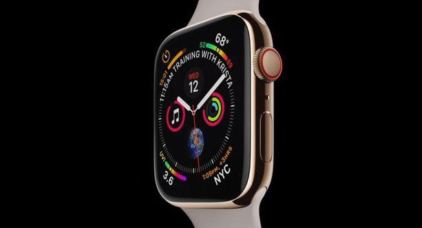 Tällainen on Applen uusi älykello.