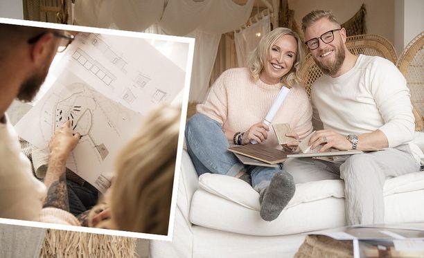 Jutta ja Juha Larm rakentavat neljän miljoonan euron luksuslomakylän Rantasalmelle aivan Järvisydän-kylpylähotellin viereen.