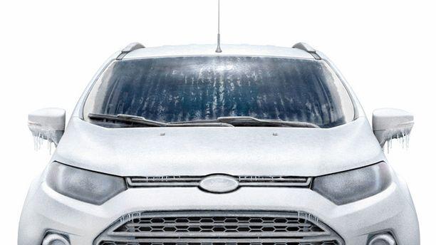 Fordin lämmitettävä tuulilasi kantaa nimeä QuickClear ja se toimii vastuslangoilla.