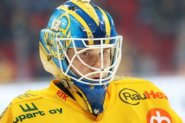 Lassi Lehtinen on SM-liigahistorian toinen maalin tehnyt maalivahti.