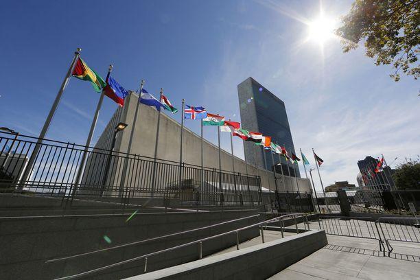 YK:n päämaja sijaitsee New Yorkissa.