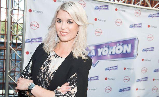 Susanna Koski käyttää syksyllä vapaa-aikansa televisio-ohjelmaan.