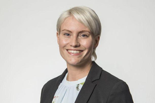 SDP:n kansanedustaja Riitta Mäkinen.