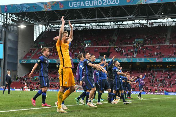 Suomi kohtasi Belgian maanantai-iltana lohkon päätöstaistelussa.