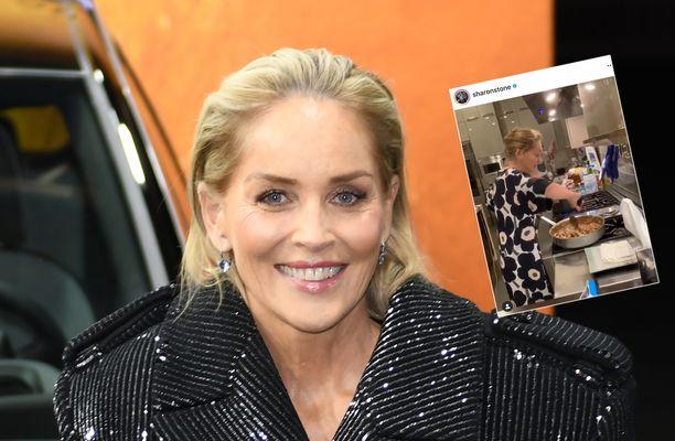 Sharon Stone omistaa todistetusti Marimekon Unikkomekon.