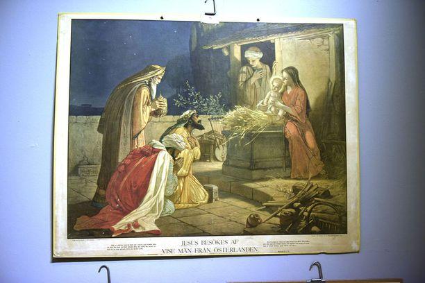 Itämaan tietäjät saapuivat Jeesus-lapsen luo loppiaisena.