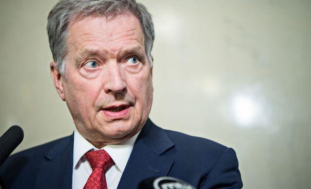 Presidentti Niinistö on korostanut, että diplomaattikarkotuksista huolimatta Venäjän kanssa on jatkettava vuoropuhelua.