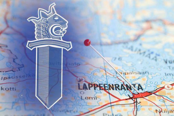 Epäilty rikos sattui Lappeenrannan Lauritsalassa.