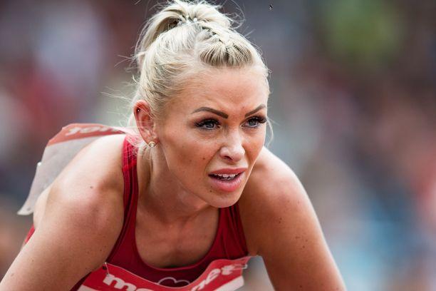 Annimari Korte tähtää tosissaan Dohan MM-kisoihin.