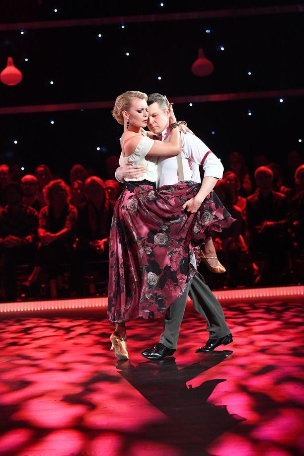 Hanneksen ja Kian tango hurmasi somekansan ja tuomarit.