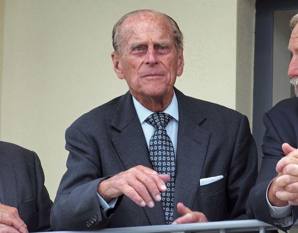 Prinssi Philip täyttää kesällä pyöreät 100.