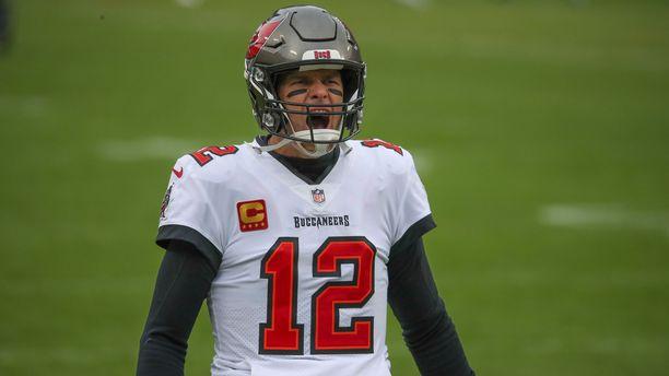 Tom Brady on NFL-historian menestynein pelaaja. Miehellä on kuusi NFL-mestaruutta.