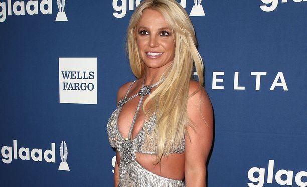 Britney Spears kuvattuna tämän vuoden huhtikuussa.