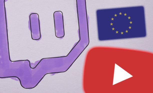 Twitch ja Youtube alkavat todennäköisesti direktiivin myötä karsia sisältöään.
