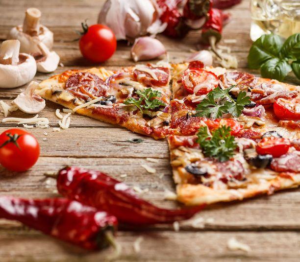 Rax tavoitteena on ilmaisten pizzapalojen avulla levittää iloista joulumieltä.