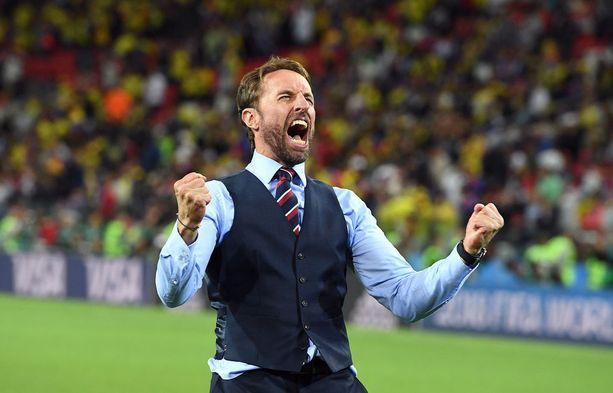 Gareth Southgate kantaa koko Englannin asettamia menestyspaineita hartioillaan puolivälierissä.