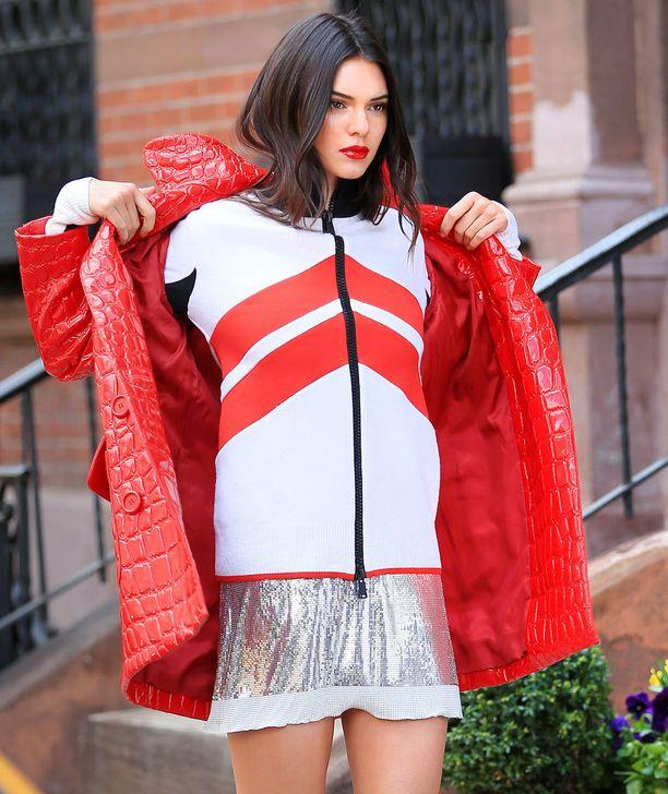 Kendall Jenner tekee nousujohteista uraa huippumallina.