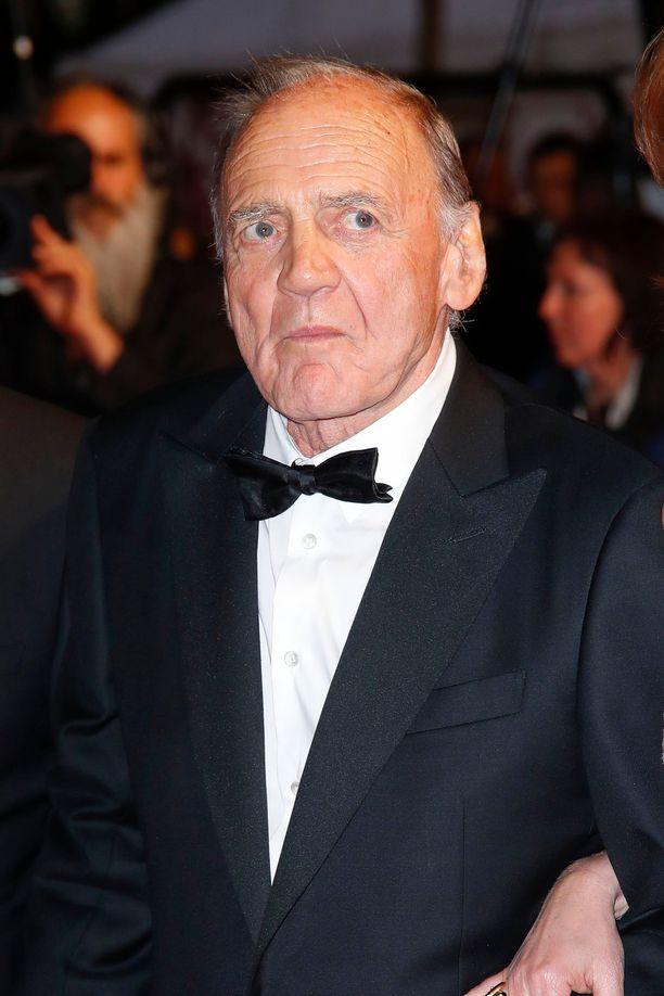 Bruno Ganz Cannesin elokuvajuhlilla.