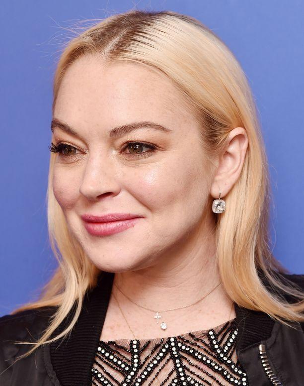Lindsay Lohan nähtiin jo vuonna 2017 hyvinvoivan näköisenä julkisuudessa Daily Mail -lehden juhlissa.