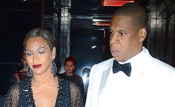 32-vuotias Beyonce ja 44-vuotias Jay-Z menivät naimisiin vuonna 2008.