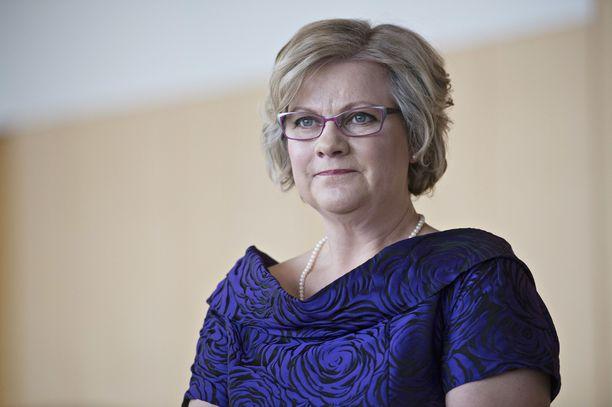 Juha Sipilän puoliso Minna-Maaria Sipilä.