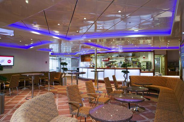 Viking XPRS:n lounge löytyy kokousosastolta.