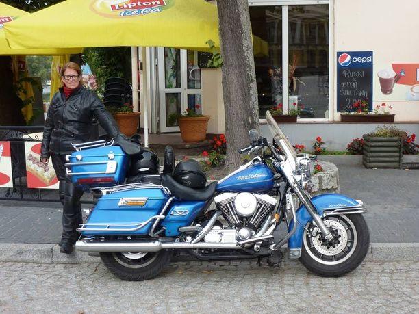 Syksyllä 2013 kaikki oli vielä hyvin, ja Eija Keckman oli miehensä kanssa moottoripyörämatkalla Kroatiassa.