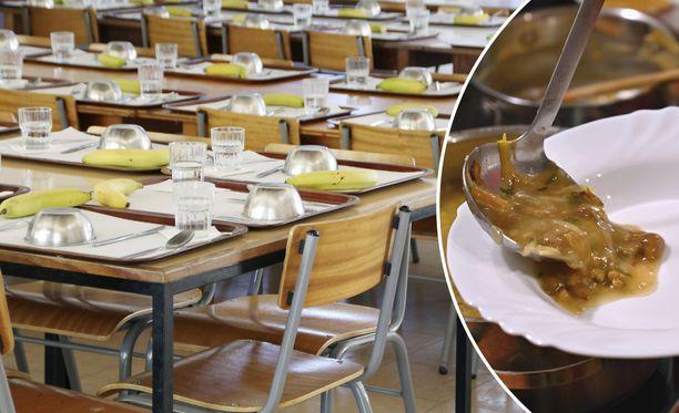 Etelähelsinkiläisessä koulussa opettajat joutuivat töihin ruokalinjastolle. Rehtorin mukaan asiaan on tulossa pikaisesti muutos.