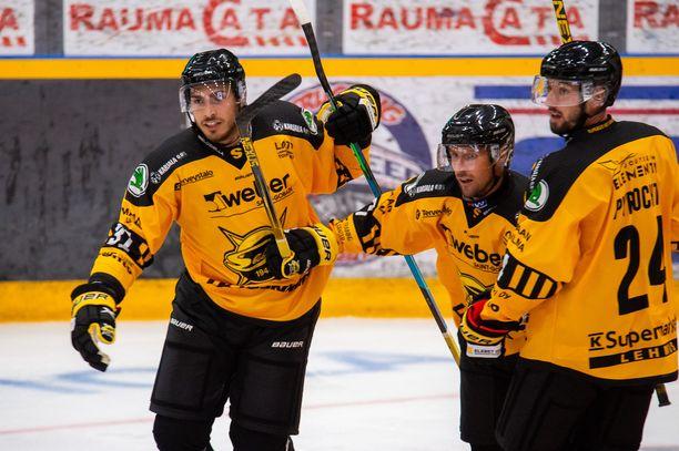 SaiPa tuuletti Pitsiturnauksen voittoa.