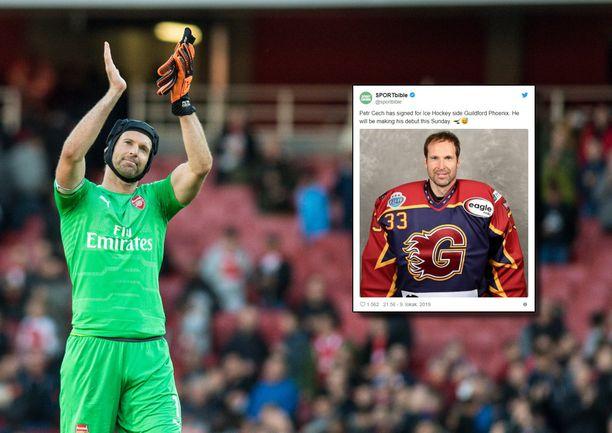Petr Cech lopetti jalkapallouransa viime kauteen ja tekee nyt uuden aluevaltauksen.