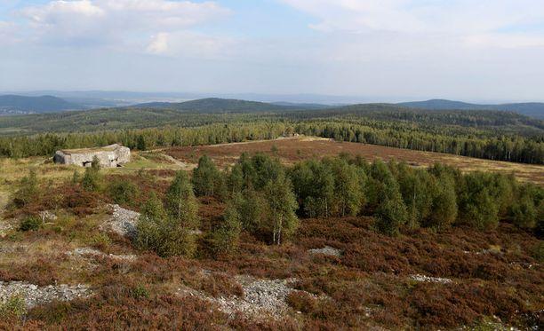 Brdy sijaitsee vain lyhyen matkan päässä Prahasta.