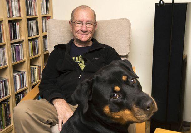 Lotta-koira on uskollinen lenkkiystävä.