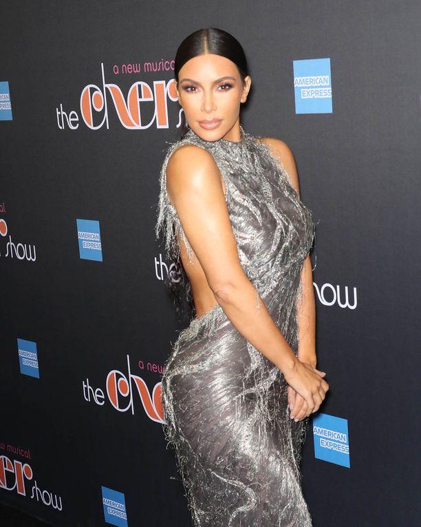 Kim Kardashian julkaisi somessa perheen perinteikkään joulukorttikuvan.