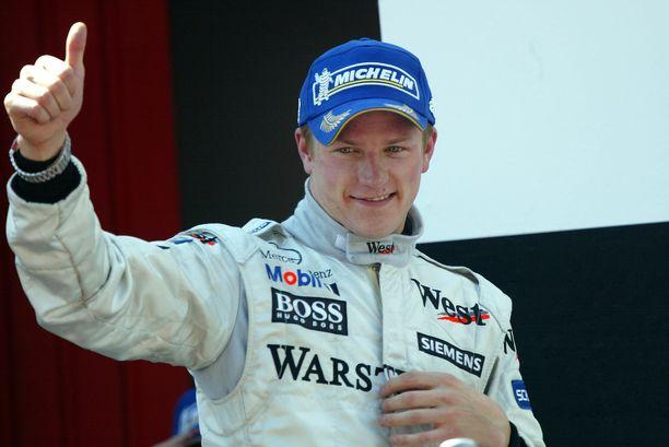 Kimi Räikköstä pidettiin McLaren-vuosinaan sarjan parhaana kuljettajana.