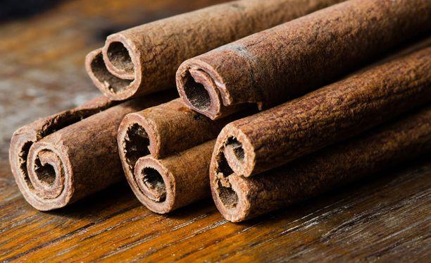 Mausteena käytettävä kaneli ei liity Fimean luokitukseen.