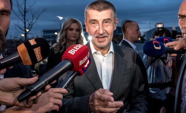 63-vuotias Andrej Babis on todennäköisesti Tshekin tuleva pääministeri.