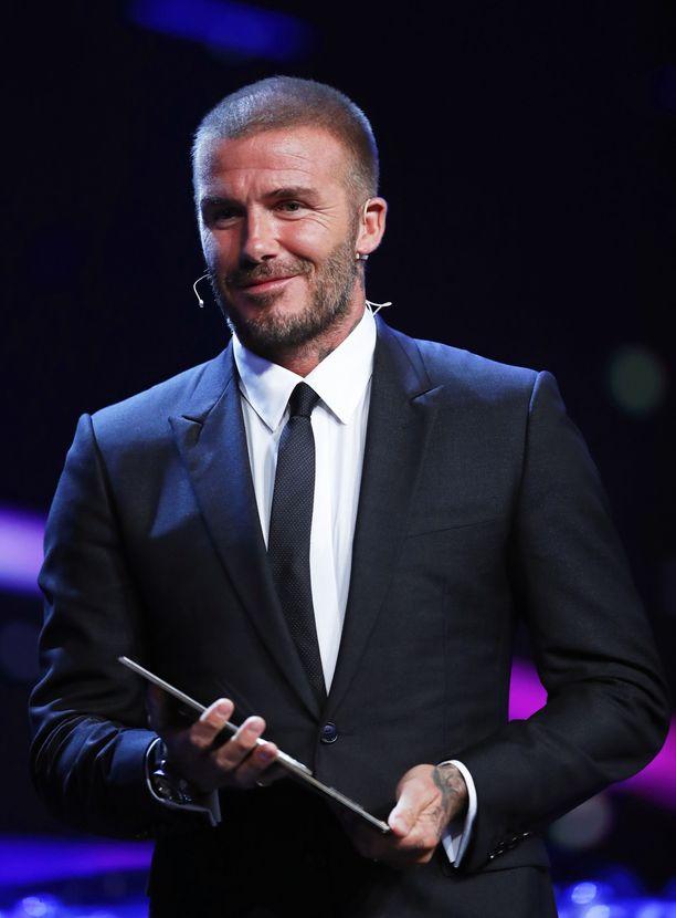 Tältä Beckhamin tukka näytti elokuussa.