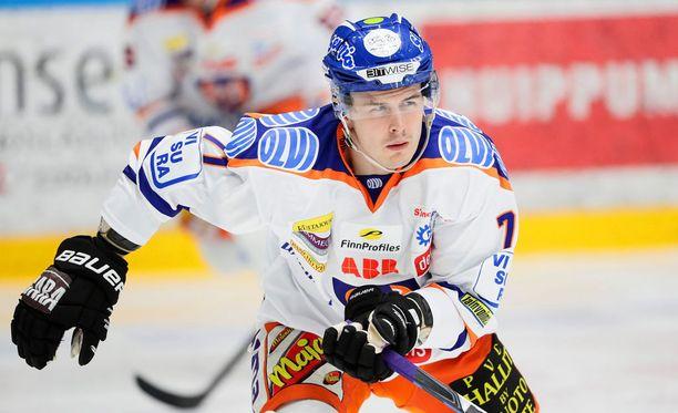 Kristian Kuusela teki kauden toisen maalinsa SM-liigassa. Viime kaudella runkosarjassa ja pudotuspeleissä syntyi 25 osumaa.
